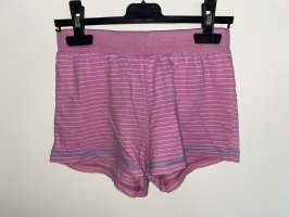 devided High-Waist-Shorts multicolored