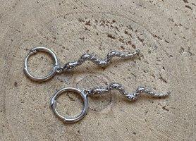 Silver Torebki Creole srebrny