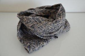 Schlauch-Schal von Accesorize, blau-grau-silber