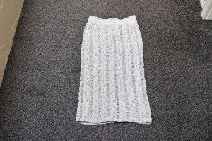 Barbara Speer Jupe longue beige clair coton