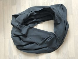 Schlauchschal in grau aus Baumwolle