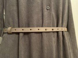 American Vintage Lederen riem lichtgrijs Leer