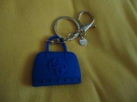 Guess Breloczek do kluczy niebieski