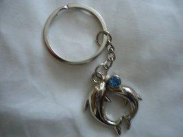 Schlüsselanhänger Delfine