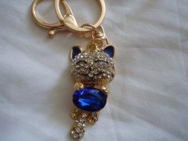 Portachiavi oro-blu