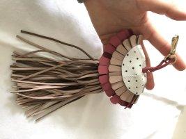 Schlüsselanhänger Leder Qualle