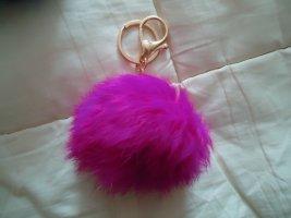 Schlüsselanhänger PINK Perle