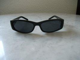 schmale Sonnenbrille mit Straßsteinchen
