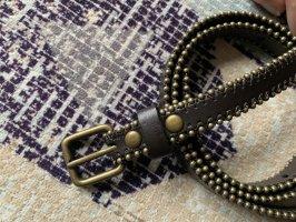 Vintage Cinturón de pinchos multicolor