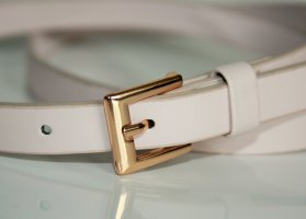 H&M Belt cream-gold-colored