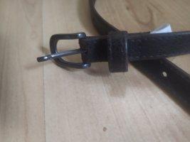 Schmaler Ledergürtel