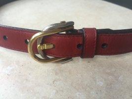 Aigner Cintura di pelle bordeaux