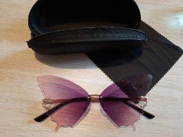 Schmetterling Sonnenbrille pastell farbverlauf