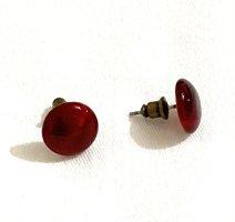 Vintage Pendant d'oreille multicolore