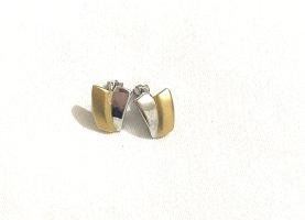 Vintage Orecchino a pendente oro-argento