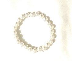 Vintage Bransoletki z perłami biały