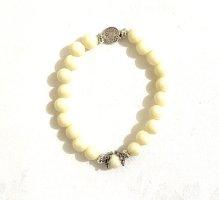 Vintage Brazalete de perlas multicolor