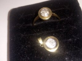 1975 Gold Ring silver-colored-gold-colored