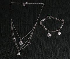 Schmuck-Set Pierre Cardin (925 Sterling Silber) - Kette und Armband (auch einzeln abzugeben)