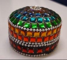 Button multicolored