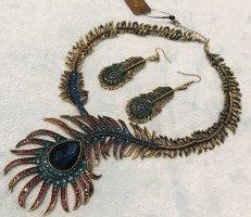 Schmuckset Kette Ohrring Halskette Modeschmuck Schmuck