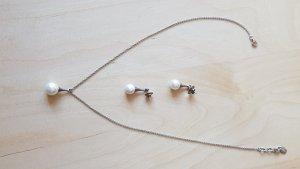 Schmuckset mit Perle - Halskette und Ohrringe von Esprit