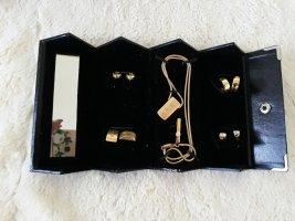 Oorstekers goud-zilver