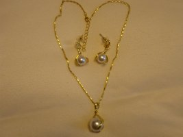 Schmuckset Perlen