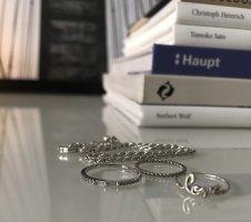 Six Srebrny pierścionek srebrny