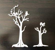 Schmuckständer Schmuckbaum Schmuckhalter weiß Creme Baum