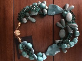Handmade Collier Necklace turquoise
