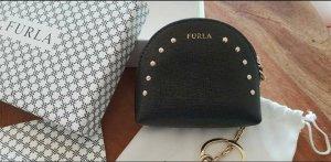 Schnäppchen FURLA Münzetui Leder aus Milano mit goldenen Nieten