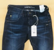 Gang Jeans slim fit blu scuro Cotone