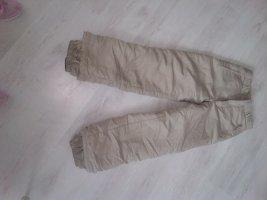Pantalón de esquí color plata poliamida