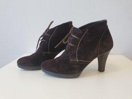 Paul Green München Lace-up Booties dark brown