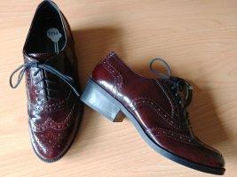 1994 Chaussures à lacets bordeau