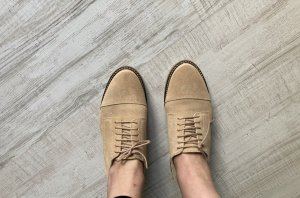 Schnürer / Schnürschuhe / Schuhe neu! Beige