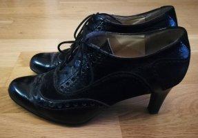 Peter Kaiser Escarpins à lacets noir