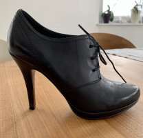 5th Avenue Lace-up Pumps black-red leather