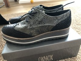 Oxmox Lace Shoes green grey