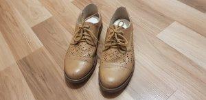 Anna Field Chaussures à lacets brun-beige