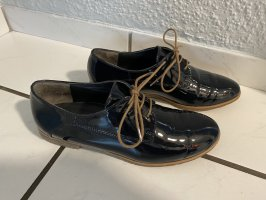 Paul Green Lace Shoes dark blue-light brown