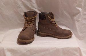 Jumex Aanrijg laarzen grijs-bruin-lichtbruin