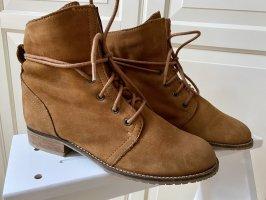 Görtz Shoes Botines de invierno coñac