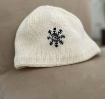 Schöffel Chapeau en tricot blanc
