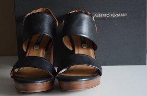 Alberto Fermani Hoge hakken sandalen veelkleurig Leer