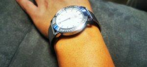 Reloj analógico color plata