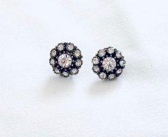 Schöne Blumen Ohrringe Vintage