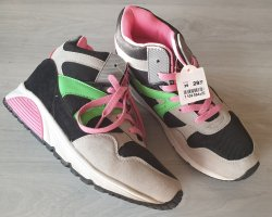 Schöne Damen Freizeit Sneakers Gr. 39