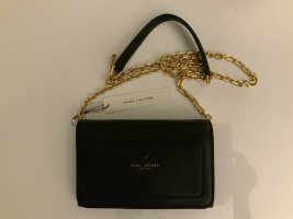 Marc Jacobs Crossbody bag gold-colored-black leather